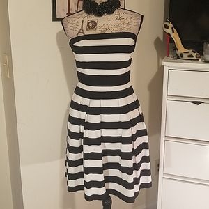 Dress by white and black house market